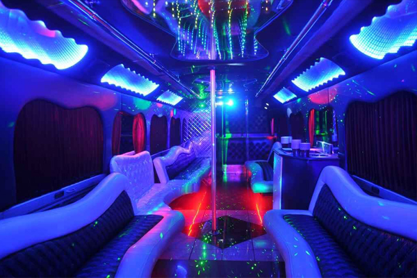 18 passenger party bus rental portland