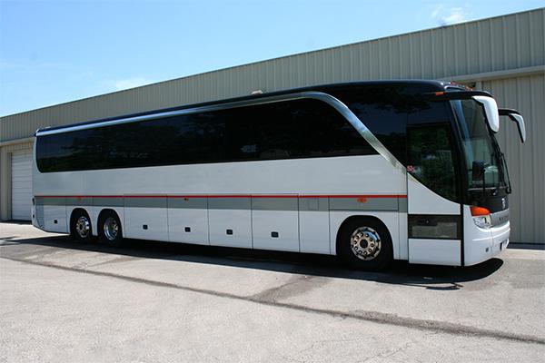 Portland 56 Passenger Charter Bus